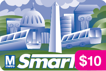 SmarTrip® Card with $8 Stored Fare Value